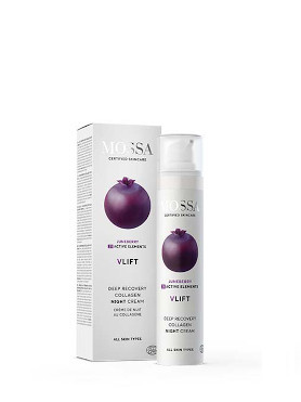 Mossa V-Lift Deep Recovery Collagen Night Cream small image